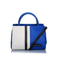 Caprese Mindy Satchel Medium Blu