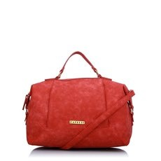 Caprese Simone Womens Satchel Re