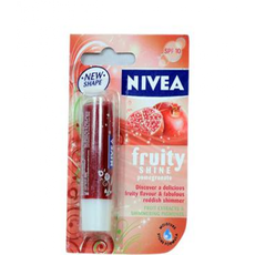 Nivea lip care fruity shine pome