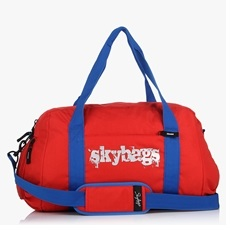 Skybags Red Grip Fitness Bag