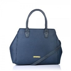 Caprese Bernie Satchel Medium Bl