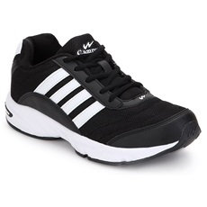 Campus 3G-378 Black Sport Shoes