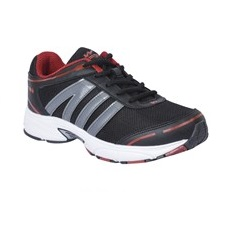 Campus Black Running Sports Shoe