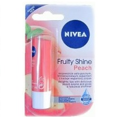 Nivea lip care fruity shine peac