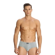 Jockey Grey Melange Poco Brief