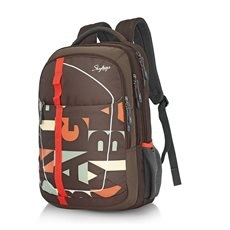 Skybags Geek 02 Brown Laptop Bac