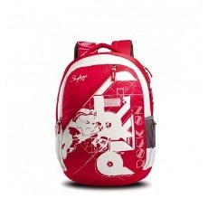 Skybags Pogo 01 Backpack Red