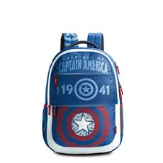 Skybags Marvel Plus Cap Am 01 Bl