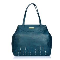 Caprese Nova Satchel Large Teal
