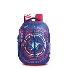 Skybags Marvel Plus Cap Am 02 Bl