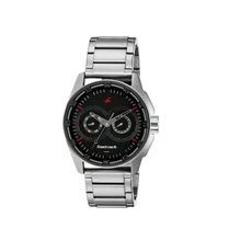 Fastrack Black Dial Men's Watch