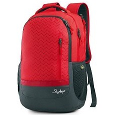 Skybags Lazer 01 Red Laptop Back